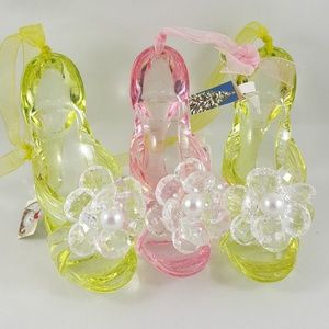 CHRISTMAS High Heel Shoe Sandals Ornaments 3